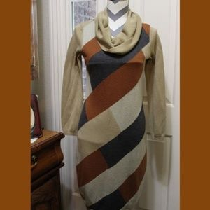 Nina Leonard sweater dress